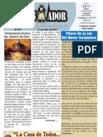 """2011-07-17 """"El Conquistador"""" Boletín semanal de """"La Casa de Todos"""""""
