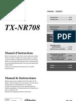 Manuel TX-NR708 FrEs SN29400318pdf