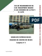 Analisis Comparativo de Precios de Chasis y Encorrozados de Buses