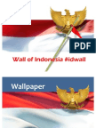 Wall of Indonesia