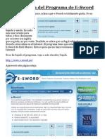 1 Manual e Sword 2009