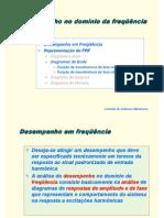 Apostila Controle - 14 - Desempenho de sistemas (domínio da frequência) - Bode
