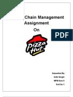 SCM Assignment Pizza Hut