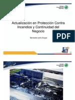 Actualizacion en Proteccion Contra Incendios y ad Del Negocio