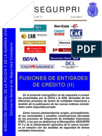 11 Fusiones de Entidades de Credito II
