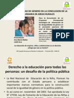Estudio Índice de Paridad de Género - CARE Perú - Junio 2011