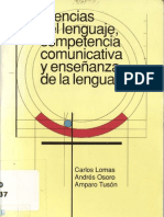 Ciencias Del Lenguaje