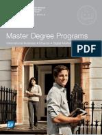 Hult Master 2011 Brochure