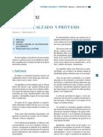 CAPÍTULO XI Ortesis, Calzado y protesis