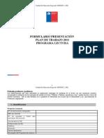 Formula Rio Plan de Trabajo. Integracion