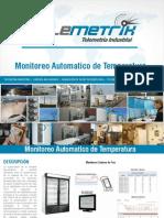 Brochure Monitoreo Automatico de Temperatura