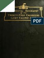 Twenty-First Engineers Light Railway