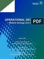 Saudi Aramco - Operational Geology Manual