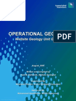 Saudi Aramco - Operational Geology Manual