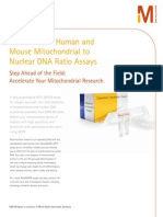 NovaQUANT™ Human and Mouse Mitochondrial to  Nuclear DNA Ratio Assays