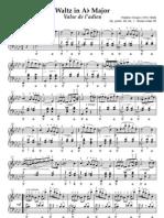 Waltz Opus 69 Les Adieux - Chopin