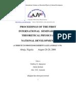 Proceedings ISOPND 2008 Pg 1-283