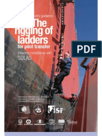 Rigging of Pilot Ladders