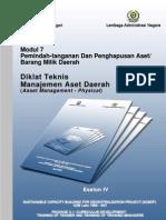 Modul 7 Eselon 4 Manajemen Aset