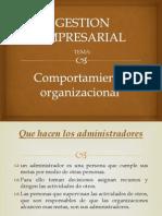 Comportamiento organizacionalppt