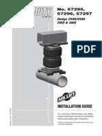 Air_spring Kit Installation Instructions