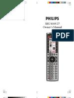 Universal Remote Manual