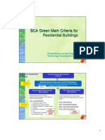 Brief Note - BCA Green Mark Criteria for Residential Building