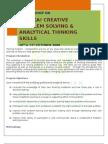 Eureka!Creative Problem Solving & Analytical Thinking Skills (Fabian) Ruth