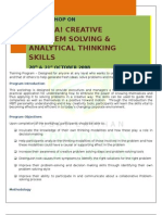 Eureka!Creative Problem Solving & Analytical Thinking Skills (Fabian) Ruth