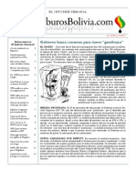 Hidrocarburos Bolivia Informe Semanal Del 11 al 17 Julio 2011