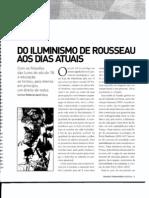 Do Iluminismo de Rousseau Aos Dias Atuais