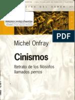 Michel onfray - Cinismos Retrato de los Filósofos Llamados Perros