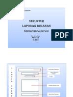 Struktur Laporan Pengawasan Bulanan