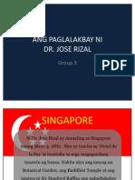 Paglalakbay Ni Rizal