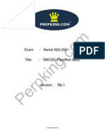 Prepking 920-250 Exam Questions