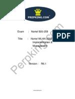 Prepking 920-259 Exam Questions