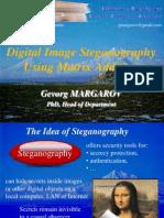 Digital Image Steganography Using Matrix Addition-Slides
