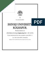 Syllabus BE Biotechnology 2010