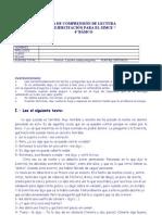 Ejercicios SIMCE C.lectora