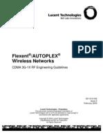 CDMA3G-1X RF Engineering