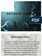 Payment Terms(2)