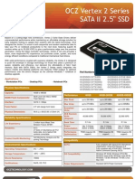 OCZ Vertex 2 Data Sheet