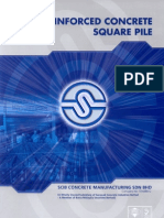 SCIB RC Square Piles