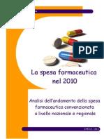 SPESA FARMACEUTICA 2010--FEDERFARMA