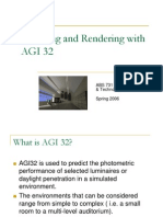 Modeling and Rendering With AGI 32