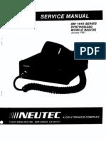 Service Manual Neutec SM1645