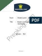 Prepking 4A0-104 Exam Questions