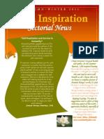 Suva Inspiration Newsletter Autumn 2011