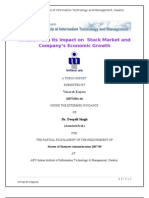 Inflation and Its Impact on Stock Market and Company_s Economic Growth