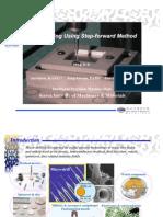 Micro-drilling Using Step-forward Method